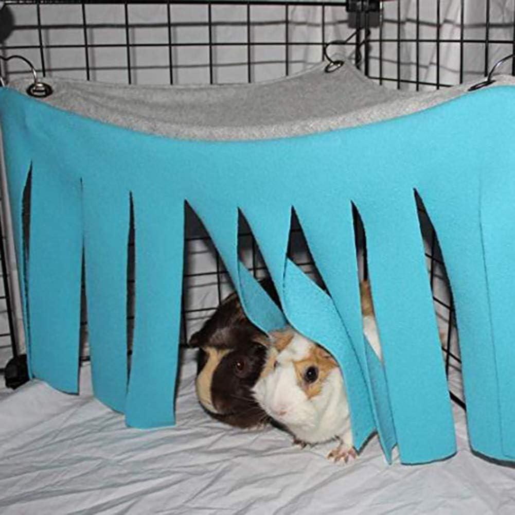 Hihey Hamster Carpa Hamaca Accesorio para Mascotas Cama Nido para Conejillo de Indias Chinchilla Erizo Rata Ardilla Hurón Enano Conejo