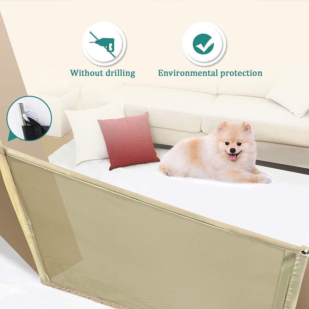 VSTON Pet Toys Seile für Hund und Hund Tor Schwarz 180 * 72 cm
