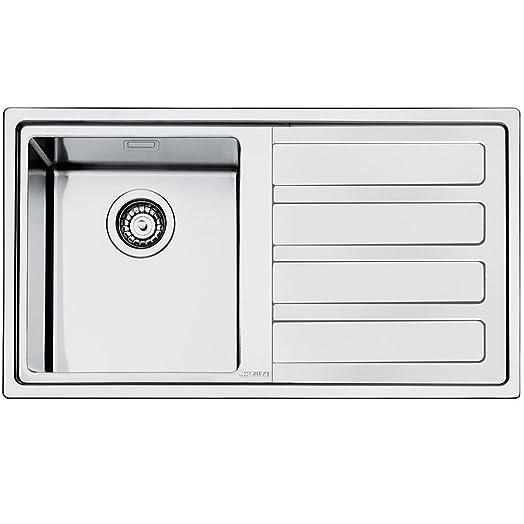 Smeg Mira LD861D-2 Inset Sink Single Bowl Ultra Low Profile ...