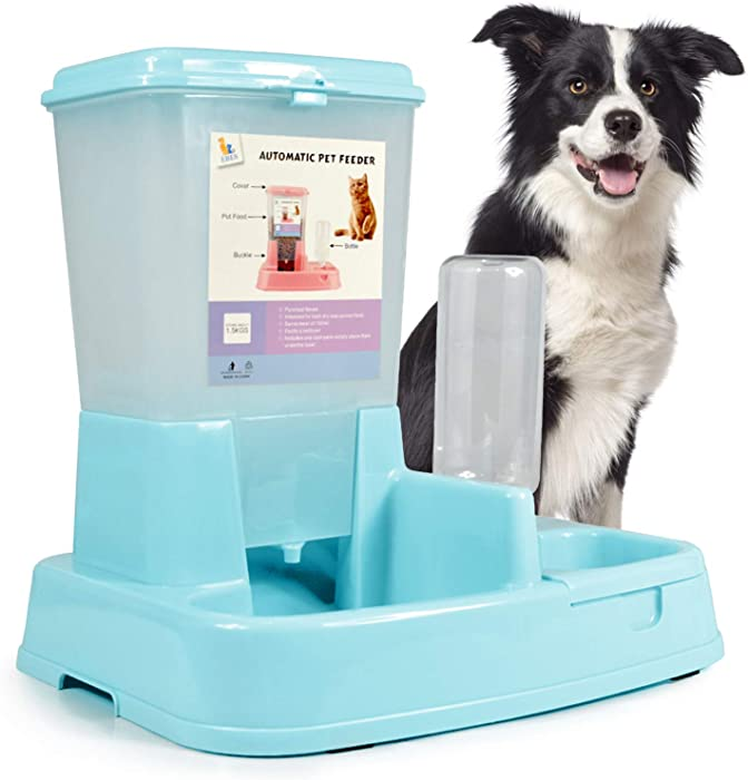 Updated 2021 – Top 10 Dog Water And Food Feeder