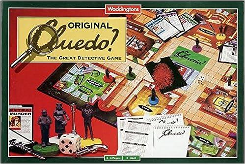 CLUEDO ORIGINAL BOARD GAME 1996 NEW AND SEALED Toys & Games: Amazon.es: WADDINGTONS: Libros