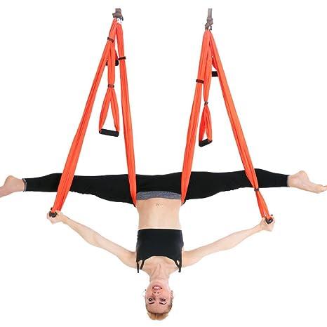 Amazon.com : Aerial Yoga Hammock Kit Indoor Reverse ...