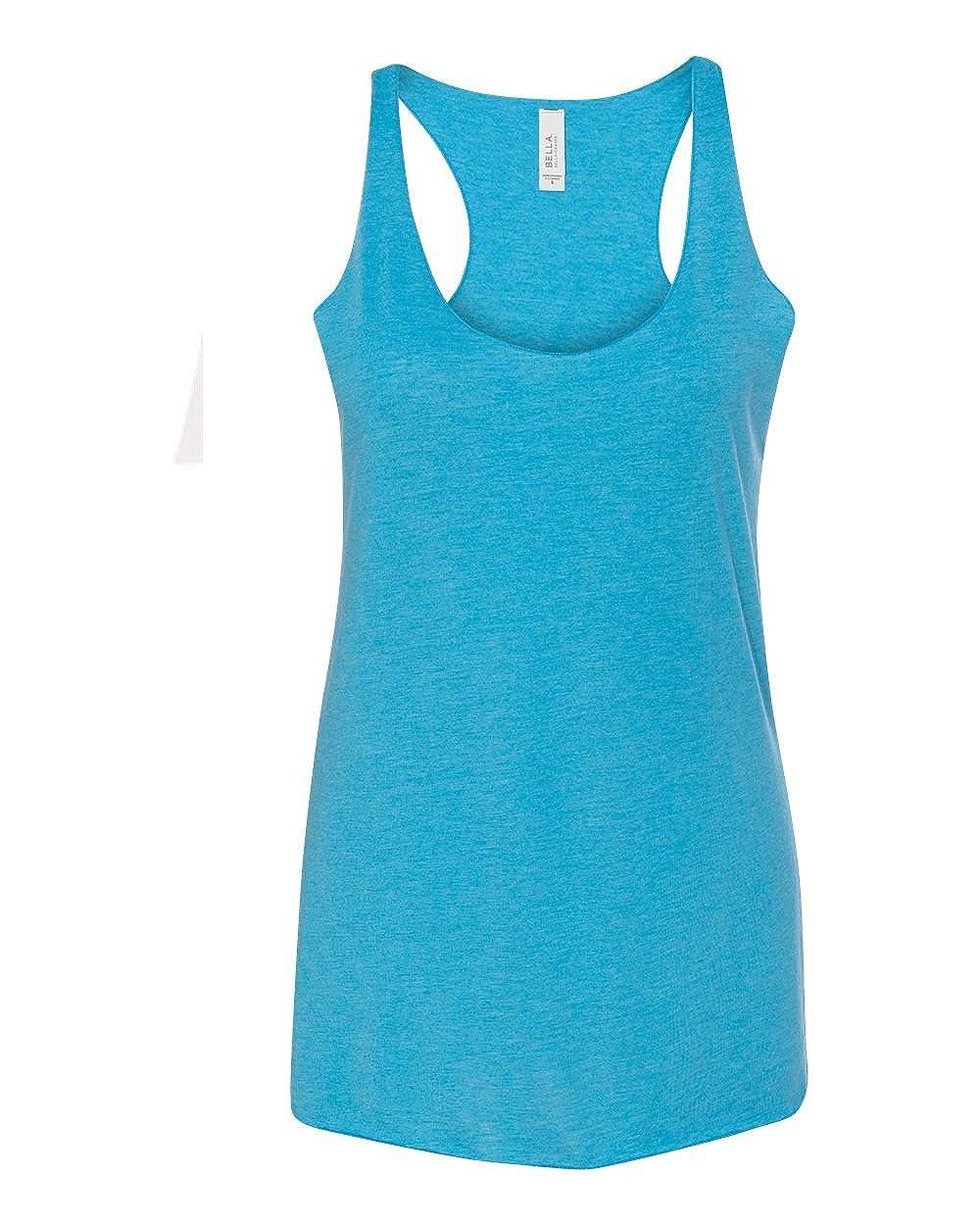 e50f7a7ba66 Bella + Canvas 8430 Ladies Sylvia Tri-Blend Racerback Tank at Amazon  Women s Clothing store