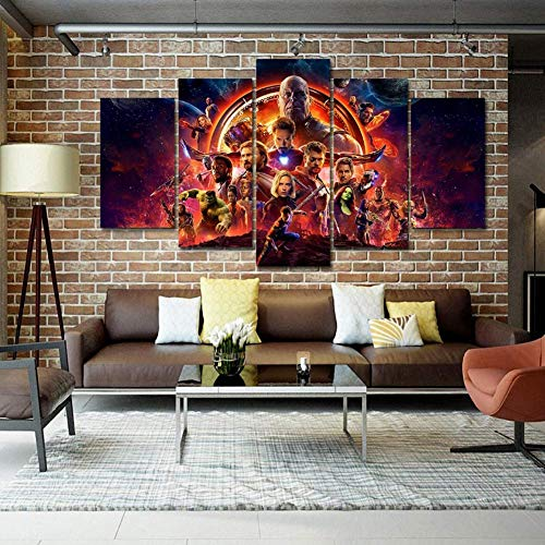CXDM Marvel Avengers: Infinity War 5 Pieces Wall Art for sale  Delivered anywhere in USA