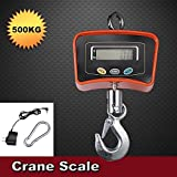 Digital Crane Scale 500 KG / 1100 LBS Heavy Duty Industrial Hanging Scale for Home Farm Factory
