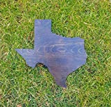 Rustic Texas Lone Star State Wooden Gallery Wall Art Cutout Office College Dorm Home Bedroom Decor