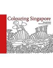 Colouring Singapore Postcard: Book 1