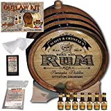 Personalized Outlaw Kit (Dark Jamaican Rum) ''MADE BY'' American Oak Barrel - Design 100: Barrel Aged Rum - 2018 Barrel Aged Series (5 Liter)