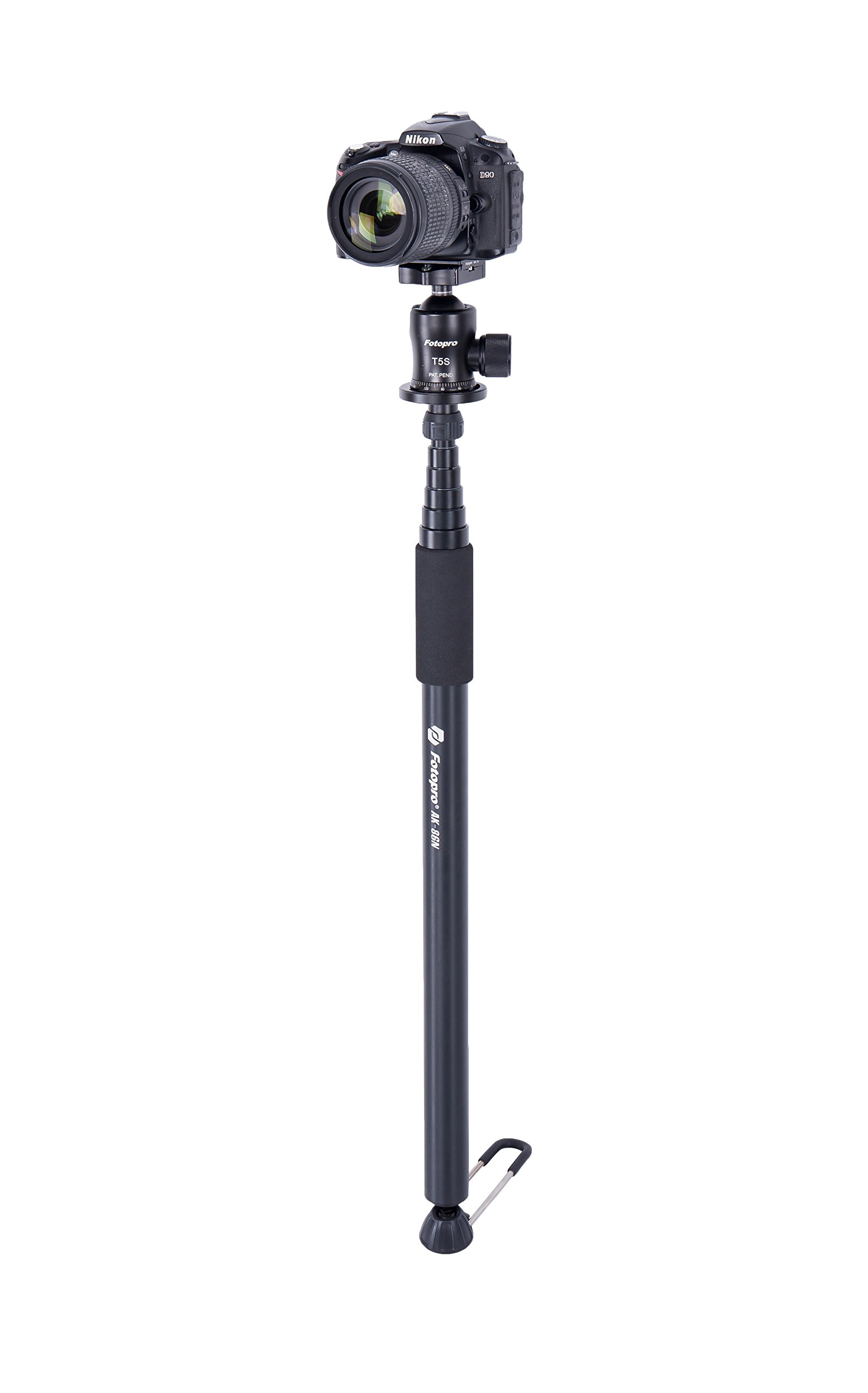 Fotopro AK-86N 111-Inch Aluminum Lightweight Ispeedy Monopod w/ Detachable Platform and Rubber Feet (Fits for 1/4''-20 and 3/8''-16 conversion Screw) by Fotopro (Image #2)