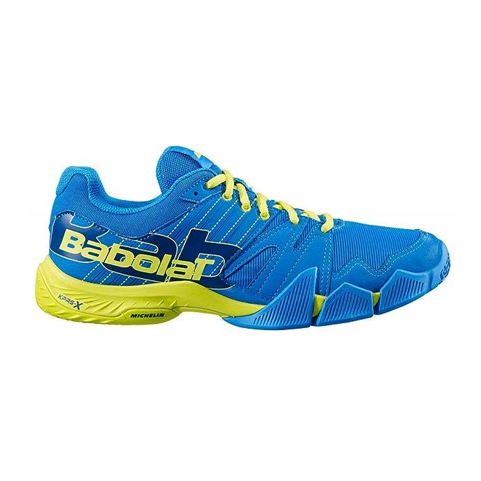 Pulsa Azul - Zapatilla Padel Hombre: Amazon.es: Zapatos y complementos