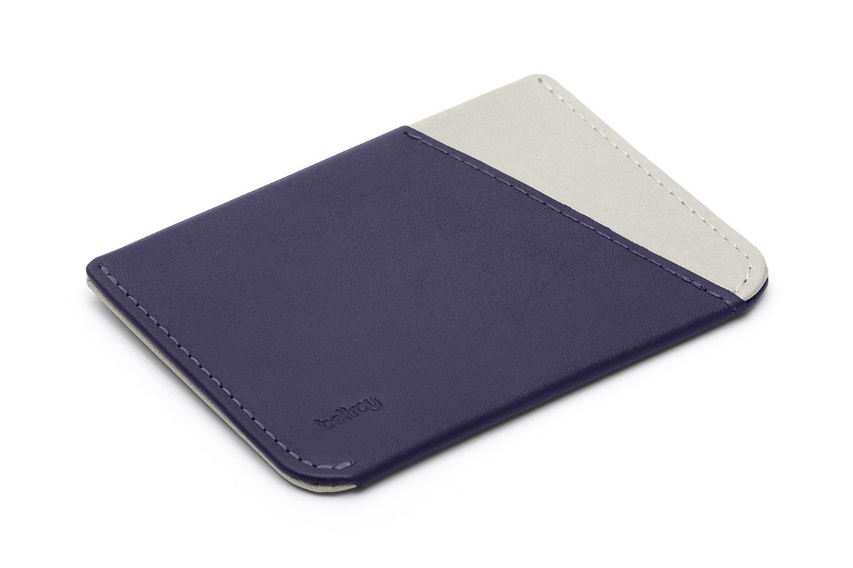 Bellroy Leather Micro Sleeve Wallet Navy by Bellroy