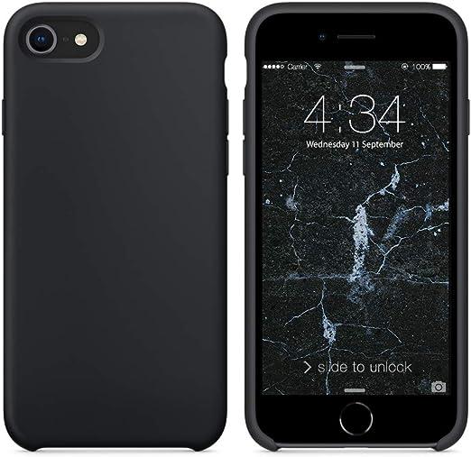 fundas iphone 7 silicona amazon