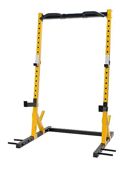 Squat Rack Half Rack 11 Gauge Commercial Grade Frame, Power Cages ...