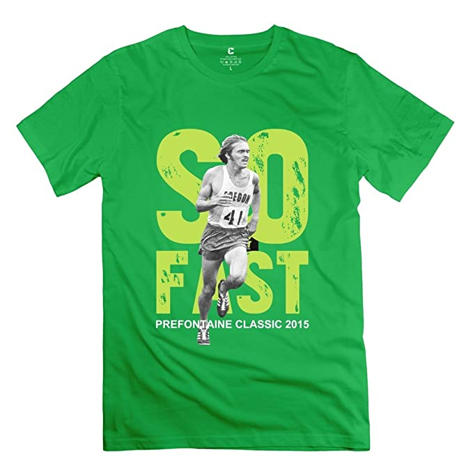 cfbcaccc Men's PRE Event Steve Prefontaine Classic 2015 So Fast T-Shirt L  ForestGreen: Amazon.ca: Clothing & Accessories