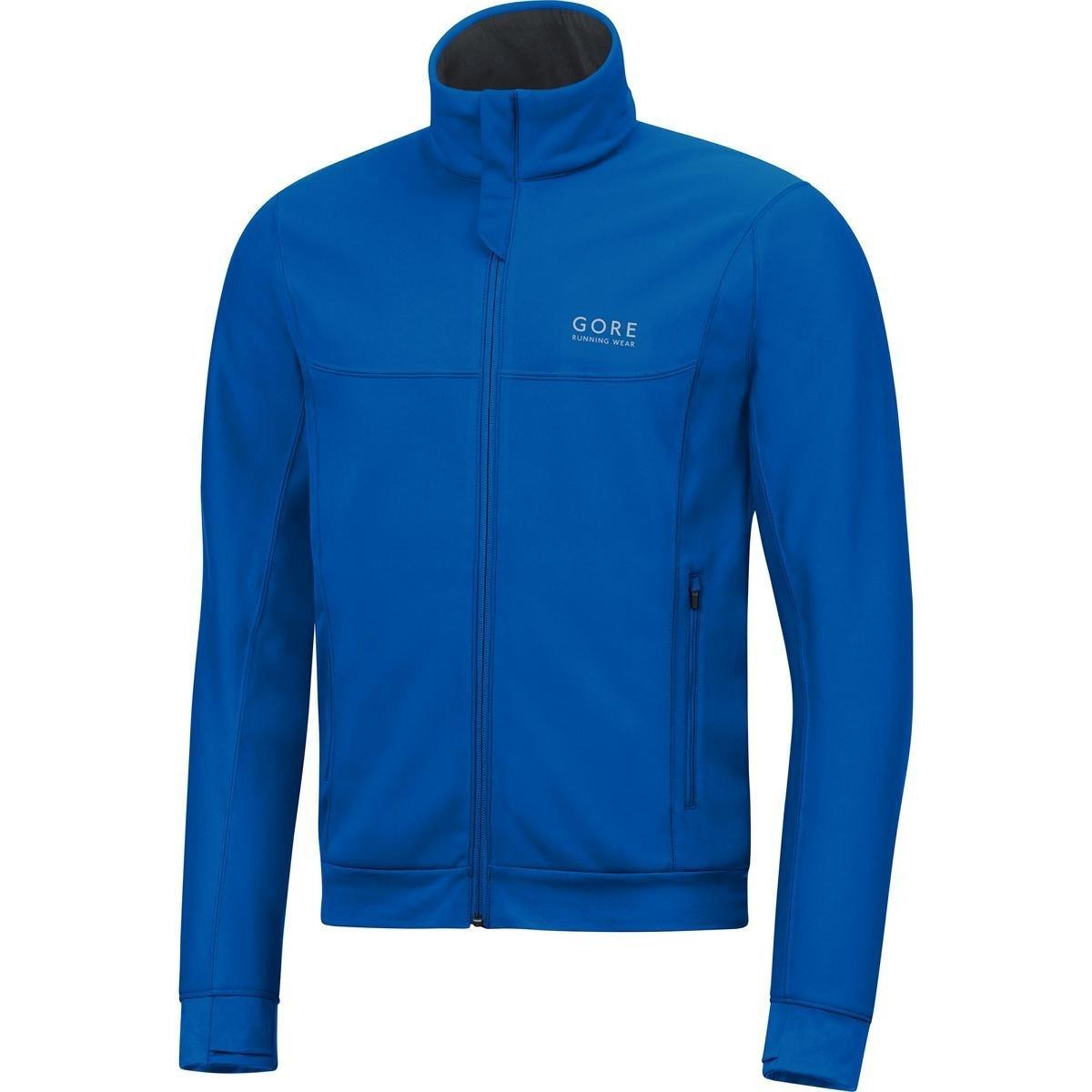 Gore Running Wear Essential Gore Windstopper Jacket – Men 's Medium ブリリアントブルー B01BYJ6HOS