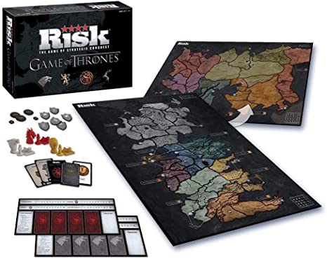 Juego De Tronos - Risk (Eleven Force S.L. 82820): Amazon.es: Juguetes y juegos