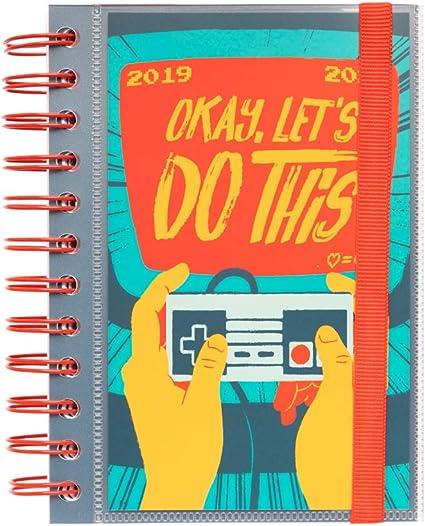 Agenda escolar 2019/2020 día página S Gamer: Amazon.es: Oficina y ...
