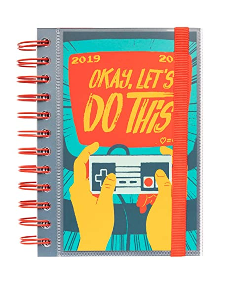 Amazon.com : 2019/2020 School Diary Day Page S Gamer ...