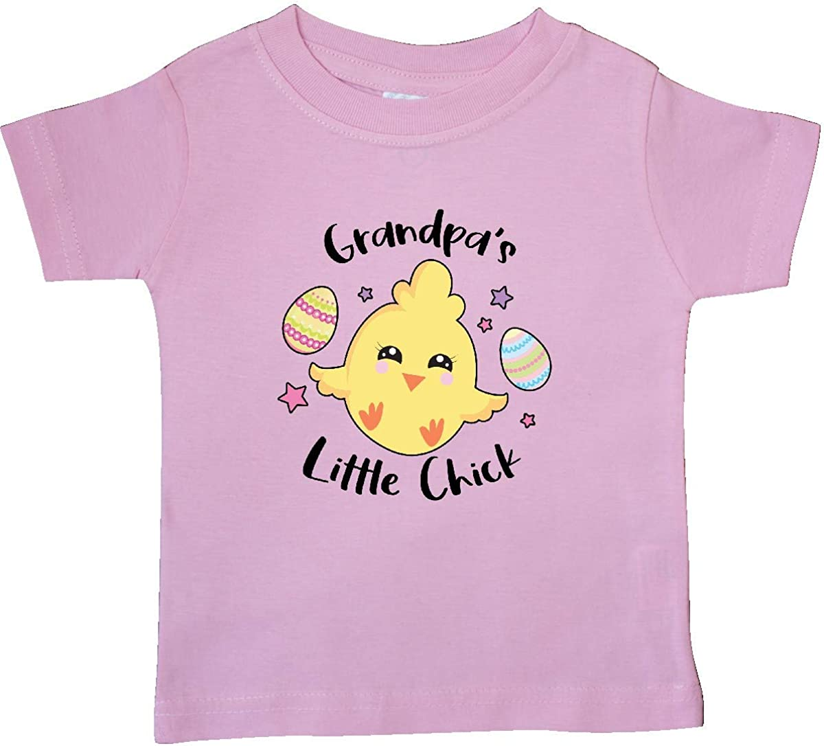 inktastic Happy Easter Grandpas Little Chick Baby T-Shirt