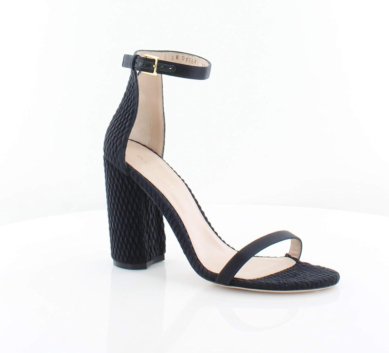 2192ca9a9c76a Amazon.com: Stuart Weitzman Nuquilt Women's Heels Dark Navy Size 8.5 ...