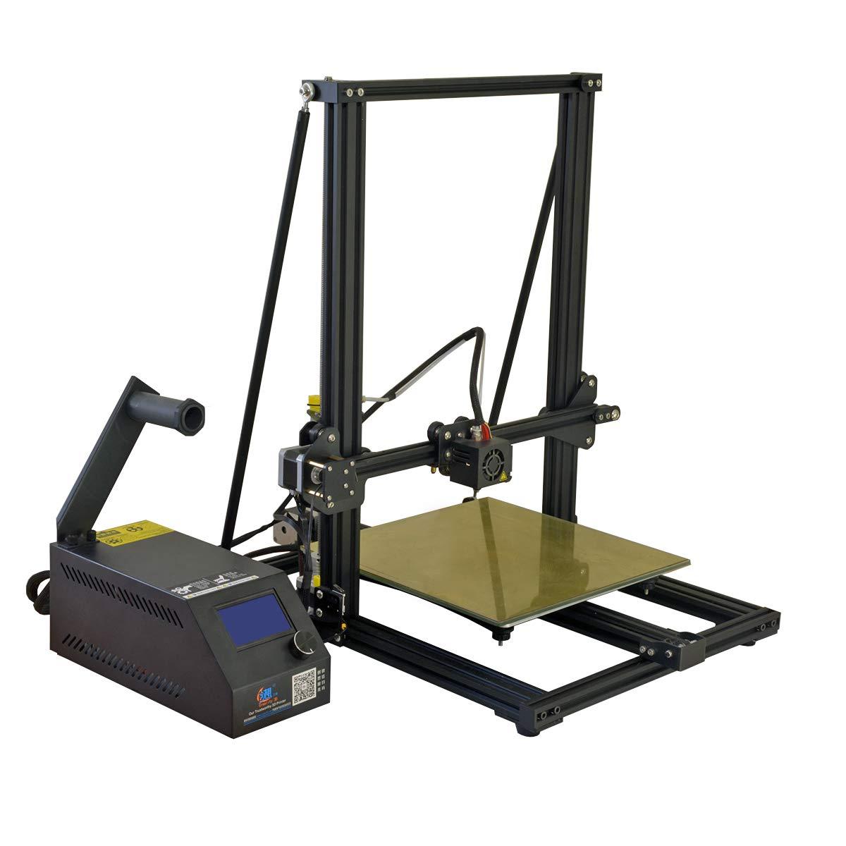 [Gulfcoast Robotics] Rear Mounted Z-Brace Frame Support Rods Upgrade Kit for Creality CR-10, CR-10S and Tevo Tornado 3D Printers ZBRACE_CR10