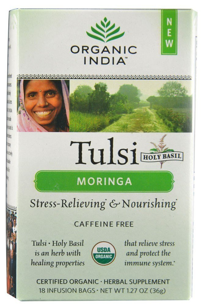 Organic India Tea Tulsi Moringa