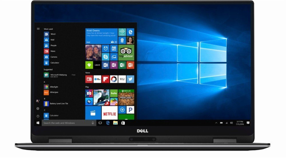 "2018 Flagship Dell XPS 13.3"" Full HD Touchscreen 2-in-1 Laptop, Intel Core i7-7Y75 up to 3.6GHz 8GB RAM 256GB SSD 802.11ac USB-C 3.1 Thunderbolt 15hr Battery Life Backlit Keyboard MaxxAudio Pro Win 10 by Dell (Image #2)"