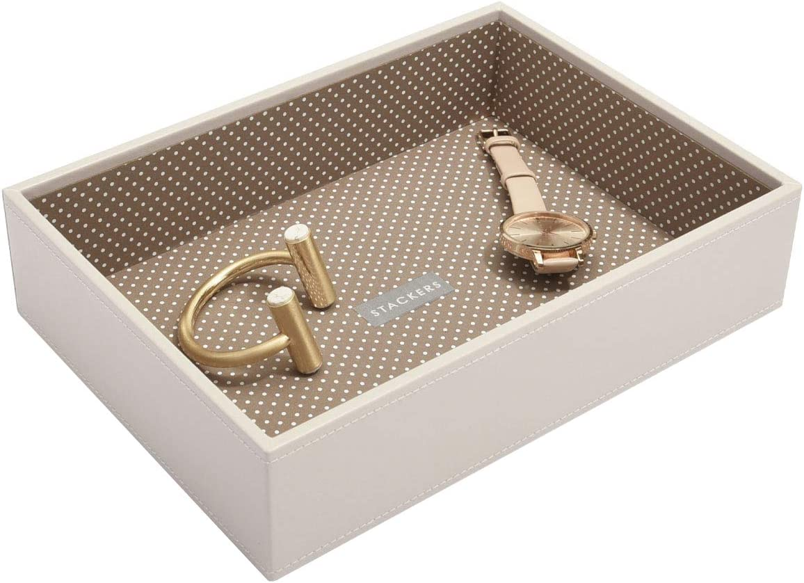 Stackers Vanilla Classic Medium Jewellery Box Chunky Jewellery Layer