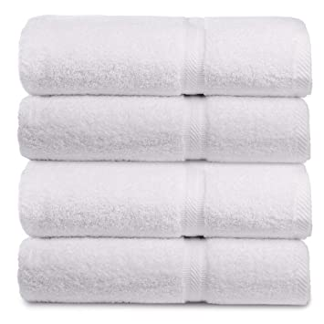 Amazoncom Mikado Egyptian Luxury Hotel Quality Bath Towels For