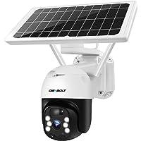 [2K WireFree] Solar Security Camera Outdoor WiFi Camera,GENBOLT Wireless Floodlight IP CCTV Camera, Battery Powered…