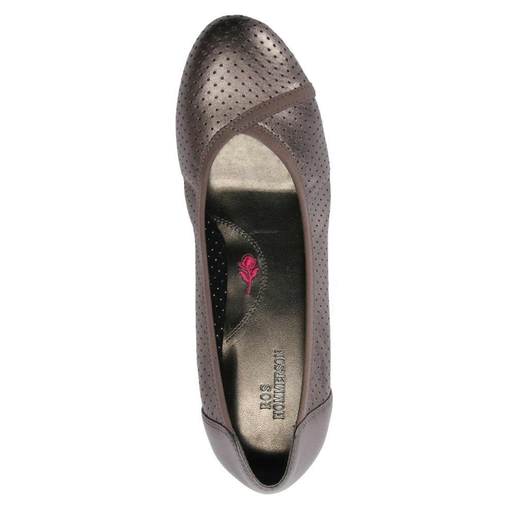 Ros Hommerson Women's Evelyn Lightweight Casual Flats B00TOTW0GA 8.5 B(M) US|Pewter