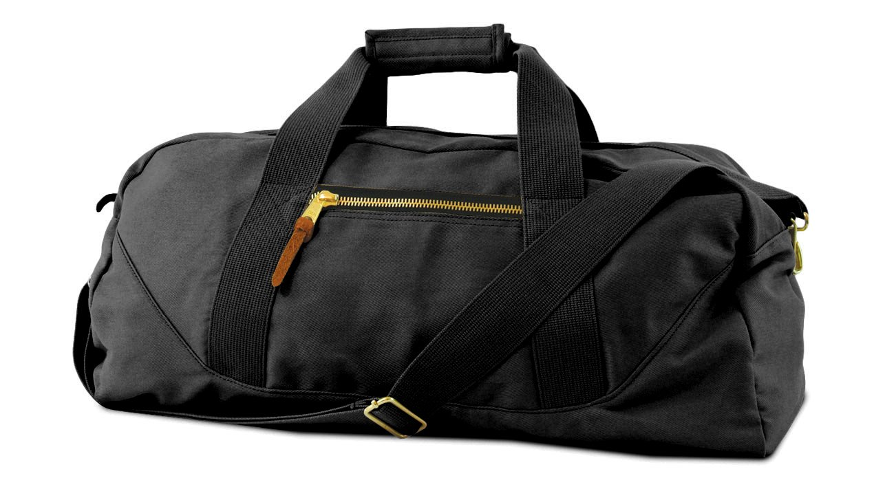 WEEKENDER LARGE DUFFLE, Black, Case of 6 by DollarItemDirect