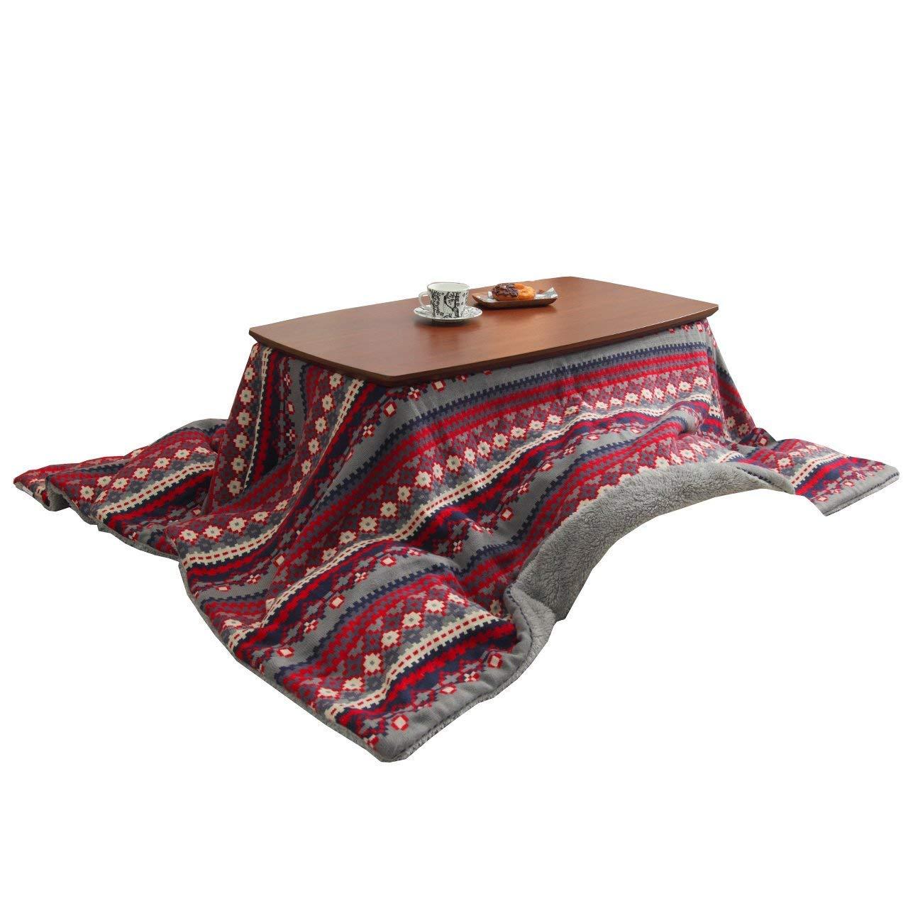 【5%OFF】 2通りの高さ調節でソファーでも使える フラットヒーターこたつセット 105×55 B07JDGQ732 継ぎ脚 (イエロー) B07JDGQ732 レッド 105×55 レッド レッド, チヂワチョウ:bbe2b0da --- svecha37.ru