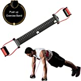 KIKIGOAL Push up Bars Stands,Stable Resistance Band Pushup Aid Exercise Equipment,with Slip-Resistant Comfortable Grip…
