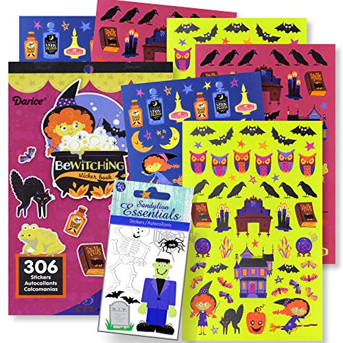 Halloween Stickers for Kids Halloween Crafts Halloween Party Favors (Halloween 2) ()