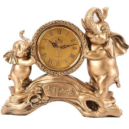 NNIU Reloj de sobremesa, Resina Reloj de sobremesa sin marcar de Silencio para Estudio,