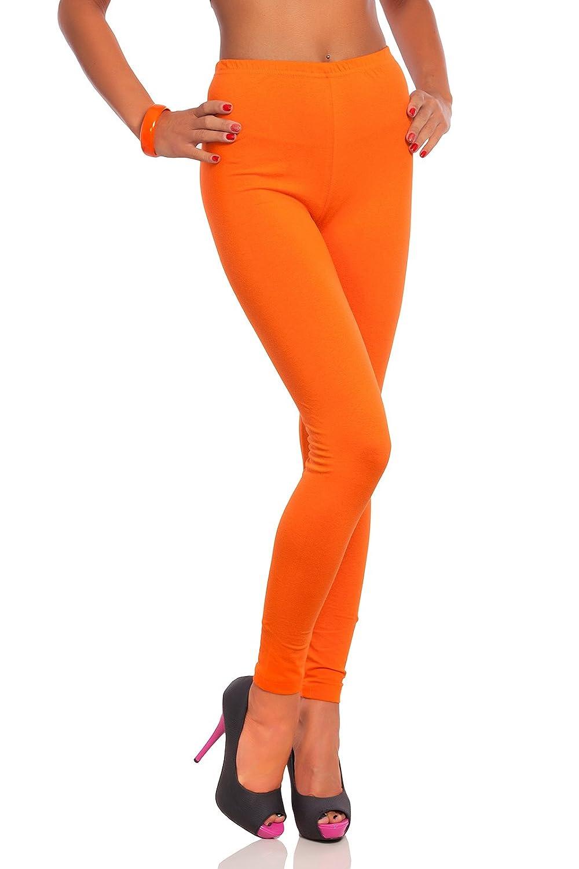 Futuro Fashion® Leggings Algodón de longitud completa todos colores todas las tallas Active Pantalón Deporte Pantalones PT-L-FULL01