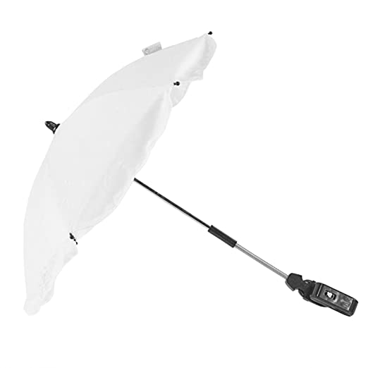 Broderie Anglaise Parasol Compatible with Graco EVO White