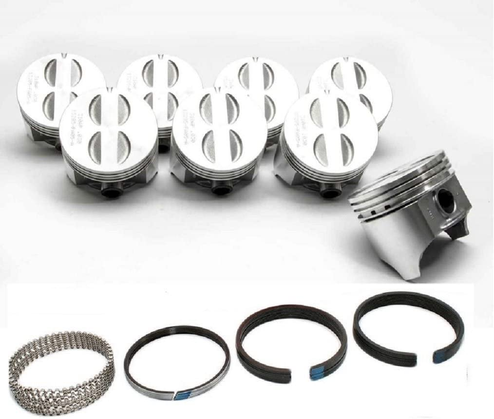 Mercruiser Chevy GM 262 4.3L Engine Rering Kit SR gaskets bearings MOLY rings