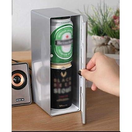 Amazon.es: WYJW Coche refrigerador USB Coche refrigerador pequeño ...