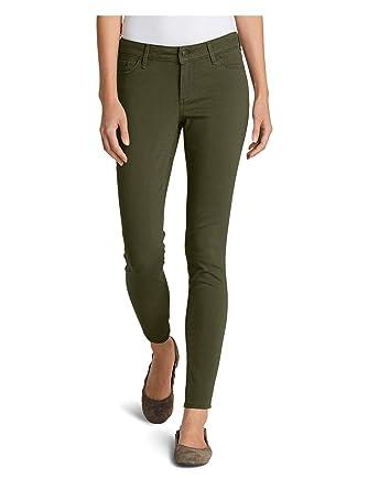 18a4b65493a Eddie Bauer Women's Elysian Twill Skinny Jeans - Slightly Curvy at Amazon  Women's Jeans store
