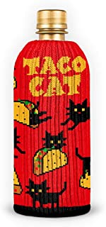 product image for FREAKER Fits Every Bottle Can Beverage Insulator, Stops Bottle Sweat, Tacocat Taco Cat Feline Kitty