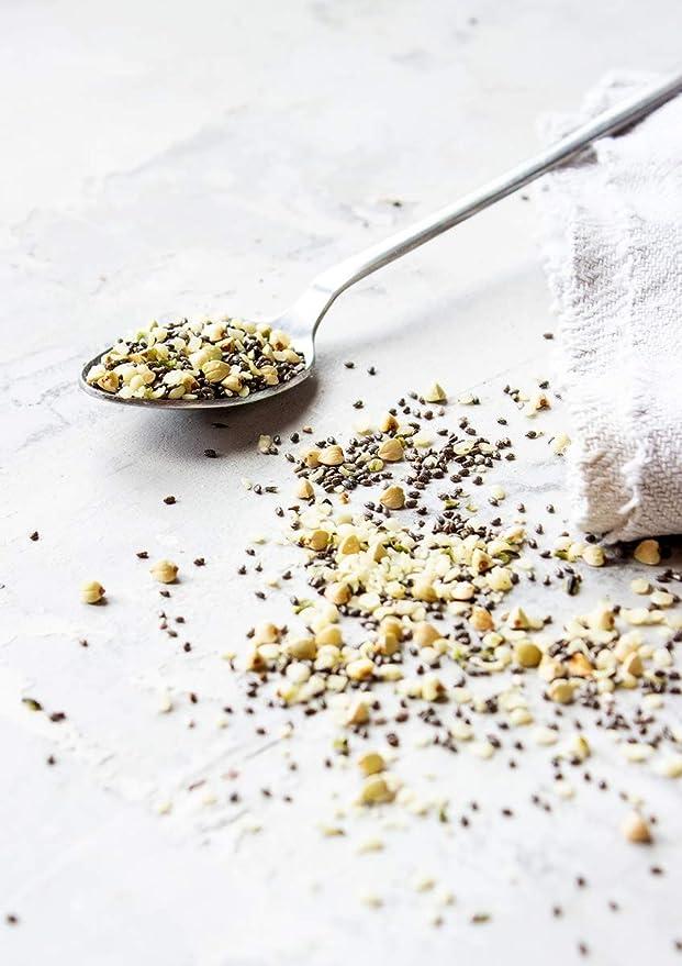 Topper de cereal de súper alimento orgánico, 1 Libra - Chia, trigo ...