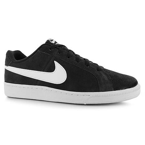 Nike Court Royale Suede Zapatillas Deportivas para Hombre Negro/Blanco Casual zapatillas zapatos calzado,