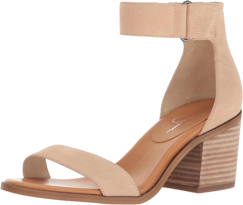 Jessica Simpson Womens Rylinn Heeled Sandal