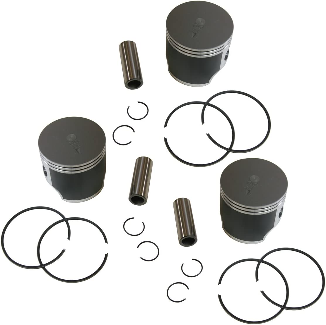 3 SPI Piston Kits 2000-2001 Yamaha 700 SX700R SX 700R SX700 Standard Bore 70.5mm