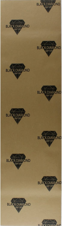 Black Diamond Longboard Skateboard Grip Tape Sheet 10