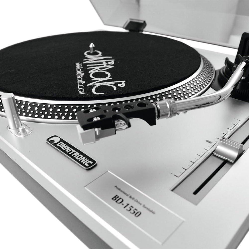 Omnitronic BD-1550 Blanco - Tocadiscos (Blanco, 8 W, 230 V, 50 Hz ...