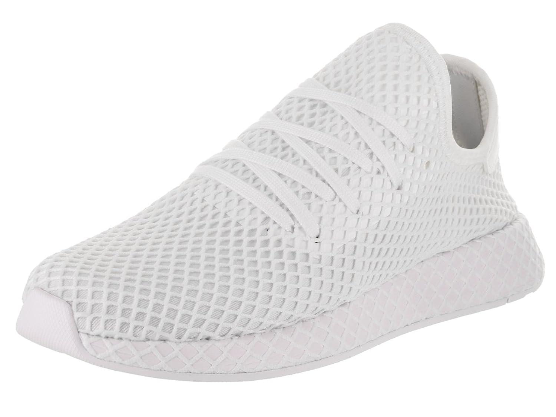 Adidas deerupt runner in bianco / running scarpe bianche cq2625 per
