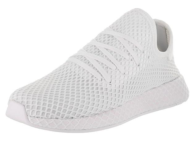 best service 551e3 3263c Amazon.com  adidas Deerupt Runner Running WhiteRunning White Shoes CQ2625  Men  Running